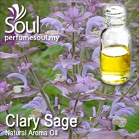 Natural Aroma Oil Clary Sage - 10ml - Click Image to Close