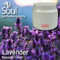 Massage Cream Lavender - 500g