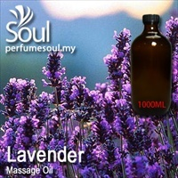 Massage Oil Lavender - 1000ml
