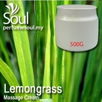 Massage Cream Lemongrass - 500g