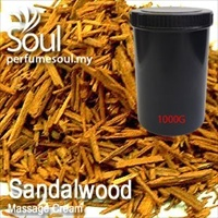Massage Cream Sandalwood - 1000g